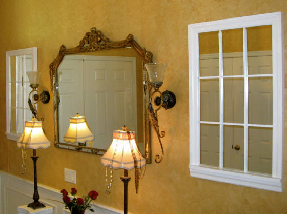 9 Lite Victoria Mirror Window